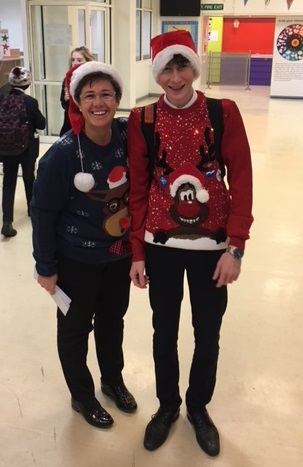 Christmas Jumper Day 1