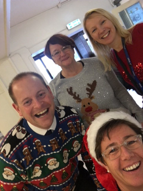 Christmas Jumper Day 3